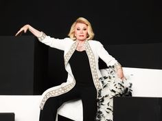 Joan Rivers: A Life Worth Joking About — A tribute to a sharp-tongued comedic pioneer whose favorite target was, more often than not, herself.