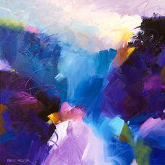 """Tidal Shift 3"" 36x36 Acrylic on Canvas by David M. Kessler. Art. Abstract Art."