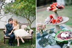 alice in wonderland casual clothes   ... : Vintage Wedding Dress with Alice in Wonderland Wedding Inspiration