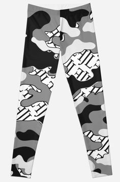 Loose Fit, Camouflage, Leggings, Vintage T-shirts, Pajamas, Pajama Pants, Fashion, Round Collar Shirt, Camo