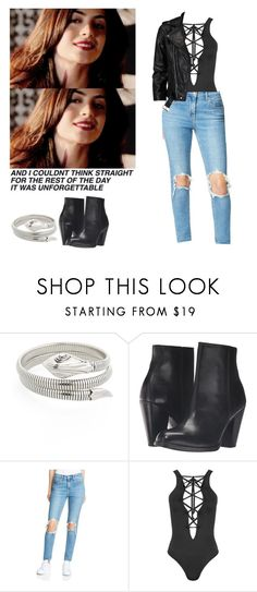 """""""Isabelle Lightwood outfit including colour - Shadowhunters"""" by shadyannon ❤ liked on Polyvore featuring Gas Bijoux, Frye, Levi's, WearAll and VIPARO"""