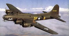 Boeing B-17 Flying Fortress, the most famous Amnerican bomber of WWII
