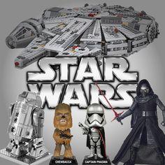 Inegavelmente a franquia Star Wars é um sucesso tanto nos cinemas quanto em venda de produtos. O eminente lançamento de Star Wars VII aqueceu novamente o mercado de brinquedos. Acompanhe os TOP 10!