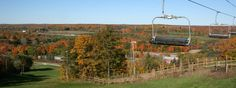Visit Kelso Conservation Area during Fall into Nature (Oct 12-14 & 19-20) and see the fall colours on the escarpment from the chairlift
