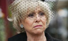 Barbara Windsor to leave EastEnders Peggy Mitchell, Opera Show, Barbara Windsor, Public Television, Female Characters, Bbc, Daughters, Sons, Actors