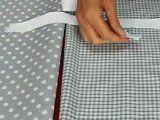 cours de couture - Comment coudre un joli petit sac à pois - Tuto de couture