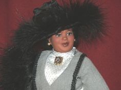 Big Beautiful Doll - Madame CJ Walker Tribute Doll Now that's what I'm talking about.