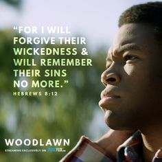 Jesus wants to save YOU, if you'll let him! #SavedByGrace #WoodlawnMovie http://pureflix.com?utm_campaign=Woodlawn&utm_medium=social&utm_source=pinterest