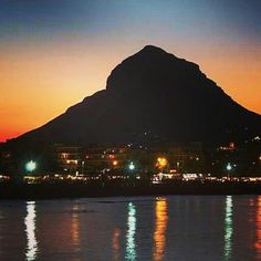 Montgo Mountain in Javea Spain♥
