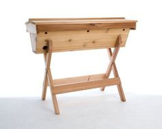 Top Bar Hive by Bee Thinking. $399.99. Top bar hive precision milled in Portland, Oregon by Bee Thinking. Roof comes assembled. All components pre-drilled. Hardware and instructions included for simple assembly.
