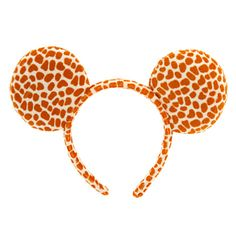 Bring out your animal magnetism while wearing our Minnie Mouse Faux Fur Giraffe Ear Headband. These glamorous plush ears are the perfect accessory for Disney Parks or wherever your imagination takes you!