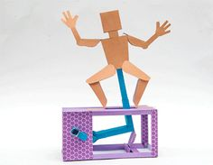Paper Dancer - Print out and make! | www.robives.com