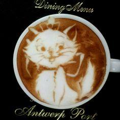 The Amazing Latte Art of Kazuki Yamamoto   #sachet #cafe #coffee #bags #sacs #emballage #souple #cafe #art #cooffee #art