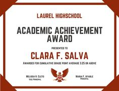 Certificate Of Achievement Template Certificate Of Achievement Office Templates, Free Printable Certificates Of Achievement, Formal Award Certificate Templates, Certificate Of Achievement Template, Free Gift Certificate Template, School Certificate, Letter Templates Free, Best Templates, Teacher Awards, Vice Principals, School Study Tips, Letter Example