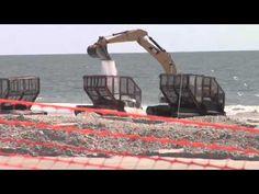 Coastal Flood Protection | Beach replenishment Underway at Long Beach Island | 3 min