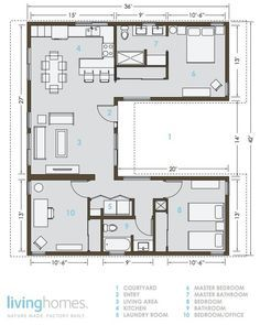 Each room has windows & cross ventilation FAB KB!!! Lay out of an eco friendly home.
