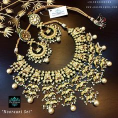 Nooraani Necklace Set (Kundan)