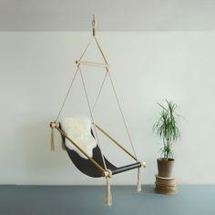 La chaise suspendue design