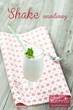 #shake waniliowy na #deser  http://pozytywnakuchnia.pl/shake-waniliowy/  #kuchnia #przepis