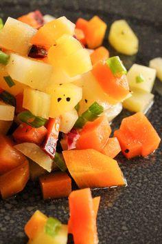 leckeres Rezept für einen ungehobelten Salat.