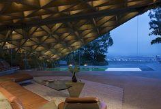 #Glass #Geometric #Table #Concrete