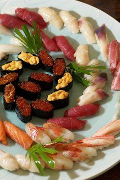 Sushi, Sapporo, Hokkaido, Japan