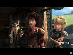 """Dragons race to the edge ~ Tuffnut: """"How do you know it's called a dragon eye?"""" Hiccup: """"Becasue I named it"""""""