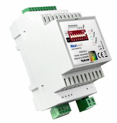 NXW224.3- RGB+W LED CONTROLLER 2X (POWER) TUKAN XT DIN - RGB+W LED controller is a device dedicated to handle modern lighting, with particular emphasis of light based on colored LEDs technology.