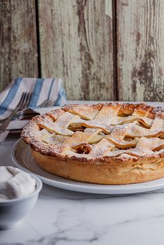 Everyone loves classic apple pie, don't they?