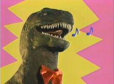 Singing dinosaur (it's not a GIF unfortunately..)