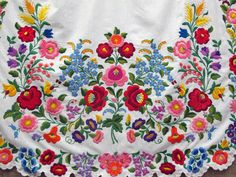 Traditional Hungarian Embroidery