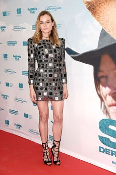 "Diane Kruger attends the Berlin premiere of ""SKY"" wearing Marc Jacobs"