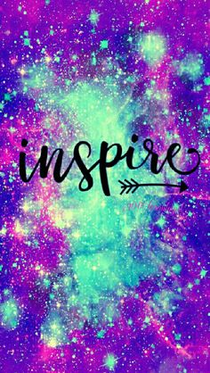 Inspire iPhone/Android galaxy wallpaper I created for the app CocoPPa!!