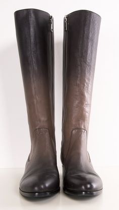 Love these! Almost wishing it were fall. Prade Degradé Smoke ombré leather riding boots