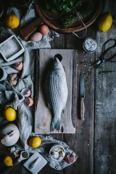 Salt Baked Sea Bass + Asheville Food Photography