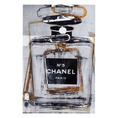 Infinite Glam from Z Gallerie... oh my god so in love with this pop of art CHANEL... i am so getting for my living, bedroom, and thinking of making me a vanity room...Wanda Polino thoughts!!!!