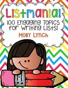 List Writing! 100+ engaging topics for students to practice list writing!