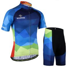 100% Polyester Cycling Jersey Set Specifications: Type: Jersey Sets Pants Material: 80% Polyester and 20% Lycra Jerseys Material: 100% Polyester Zipper Length: