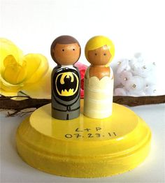 Batman Wedding Cake Toppers