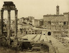 Anonyme, Rome, Capitole, Palatin, Vimimal, C1878