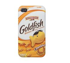 Goldfish snack iPhone 4/4s/5 & iPod 4/5 Case❤ IM GOING TO BUY THIS RIGHT NOW IM NOT KIDDING! @Katherine Anderson WE BOTH NEED THIS