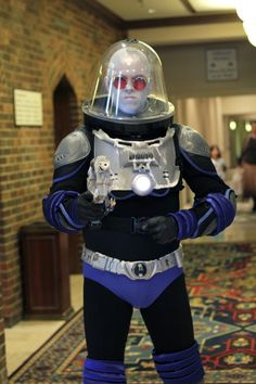 One of my favorite Batman antagonists, Mr Freeze Cosplay
