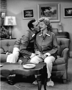Desi Arnaz and Lucy Ball