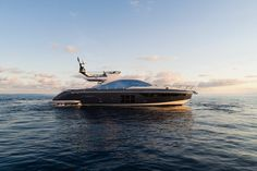 Yes, it has great lines and bold Italian styling, but the feature that makes Azimut's new most intriguing is what you don't see: its carbon-fiber construction. Azimut Yachts, Carbon Fiber, Boats, Construction, Building, Ships, Boat, Ship