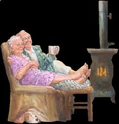 Make Your Own Greetings Photo Humour, Animiertes Gif, Grow Old With Me, Illustration Noel, Growing Old Together, Old Couples, Old Folks, Grands Parents, Animation