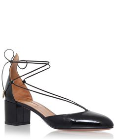 AQUAZZURA BLACK PATENT LEATHER ALEXA 50 PUMPS  is my styling choice for the submitted design Pumps, Pump Shoes, Heels, Liberty Fashion, Fashion Competition, Aquazzura, Beautiful Shoes, Popsugar, Black Patent Leather