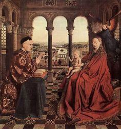 Image illustrative de l'article La Vierge du chancelier Rolin (Jan van Eyck)