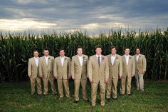 What did I tell you? uhha a cornfield.
