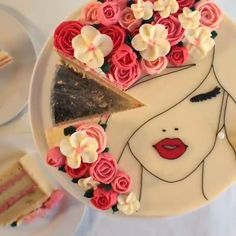 Savory magic cake with roasted peppers and tandoori - Clean Eating Snacks Cake Decorating Videos, Cake Decorating Techniques, Fancy Cakes, Cute Cakes, Cupcake Rainbow, Frosting Colors, Cakes For Women, Occasion Cakes, Cake Tins