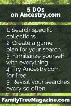 5 Ancestry.com lifehacks | Genealogy Family History Mormon LDS helper!